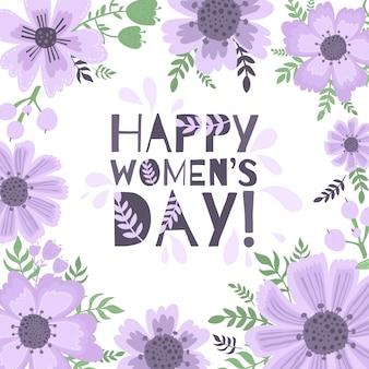 国際女性の日のバナー