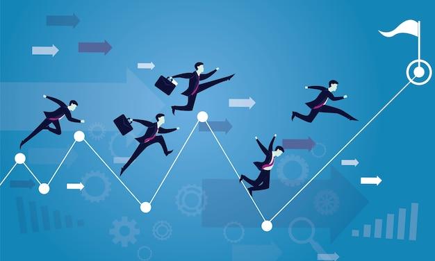 ビジネスコンペ成功へのレース