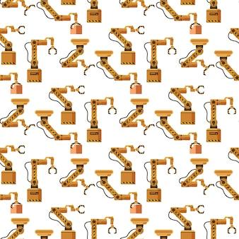 倉庫ロボットクレーン装置のシームレスパターン