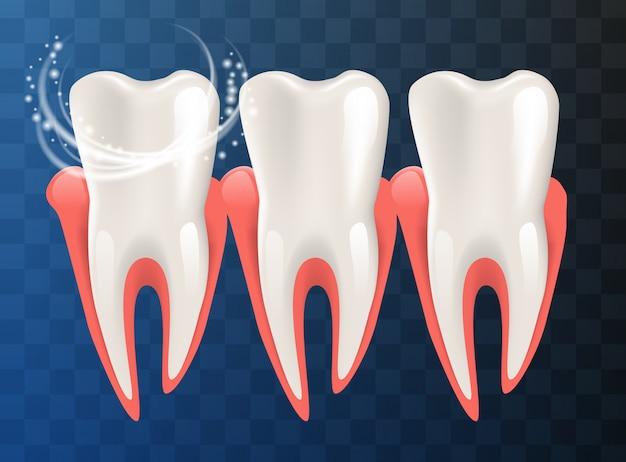 Экстра отбеливающая зубная паста концепция здоровых зубов