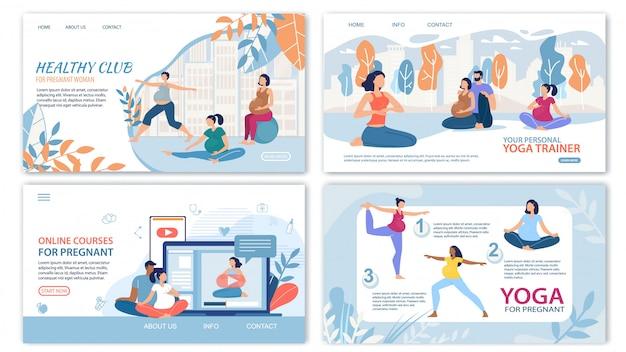Мероприятия для здоровой беременности веб-страниц