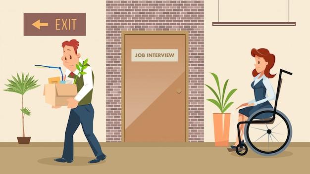 障害者雇用平等権