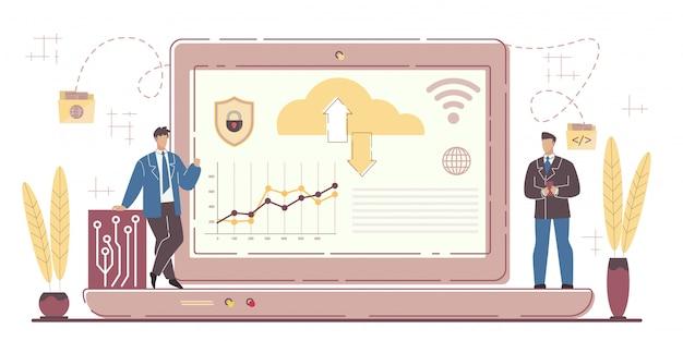 世界的なビジネス開発のためのサースシステム