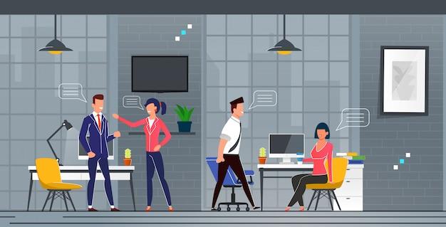 新事務所における知人とコミュニケーション