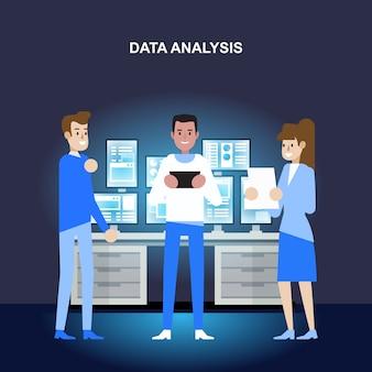 データ分析と研究