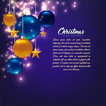 クリスマスの魔法のテンプレート