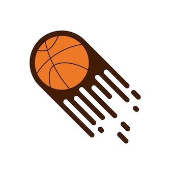 バスケットボールのベクトルテンプレートのデザインのイラスト