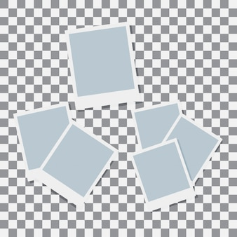 ポラロイド紙ベクトルを設定します。