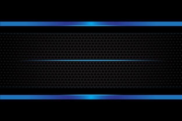 Абстрактный синий металлический фон
