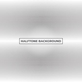 黒と白のハーフトーンパターンの背景