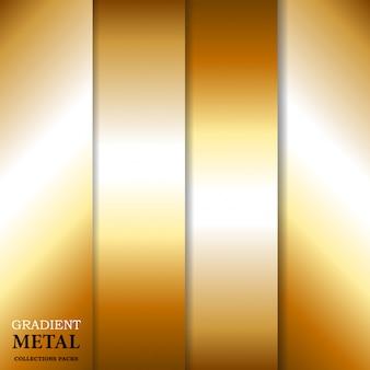 Градиент золотой металлический фон