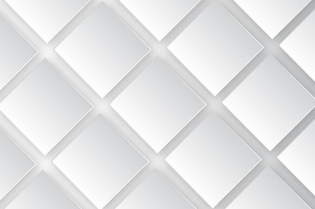 長方形の白い背景テンプレート