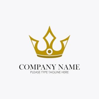 ジュエリー会社のクラウンロゴ
