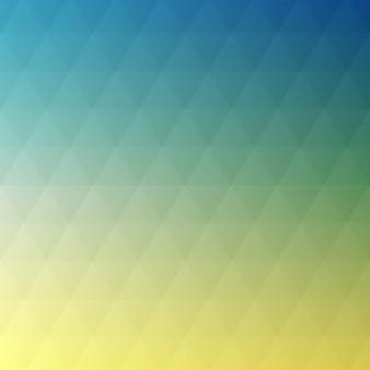 幾何学的なグラデーションカラーの背景