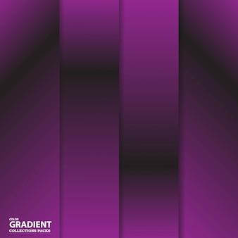 グラデーションカラーコレクションパックテンプレート