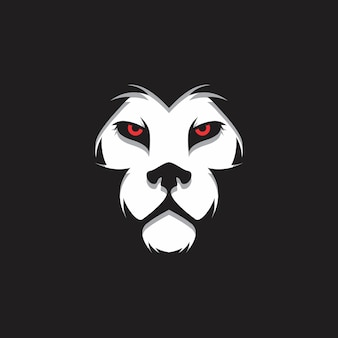 Белый логотип логотипа