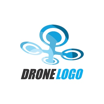 Шаблон логотипа аэрофотосъемки