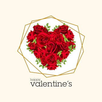 Букет из акварельных розовых роз