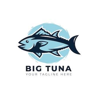 Логотип с тунцом