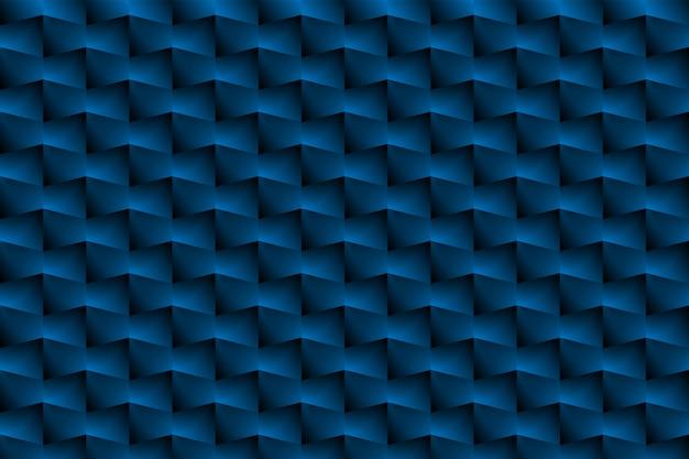青いボックスは抽象的な背景としてのパターンです。