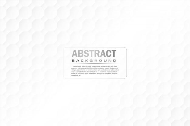 抽象的な紙の八角形の白背景、光と影。
