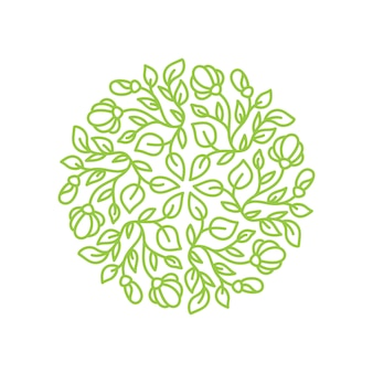 Логотип цветок