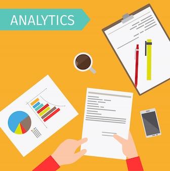ビジネス分析トップビューの図