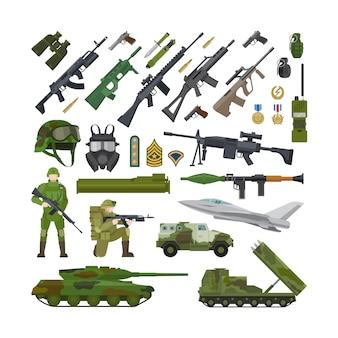 兵士の機器