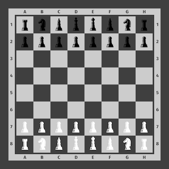 チェス駒チェス盤