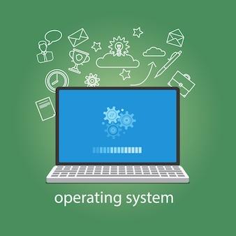 オペレーティングシステムのソフトウェア