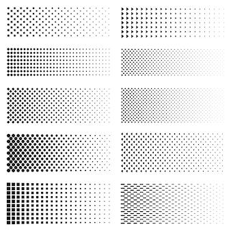 点線グラデーションセット