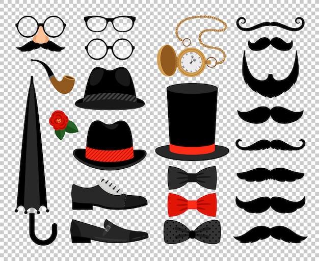 Джентльмен винтажные аксессуары