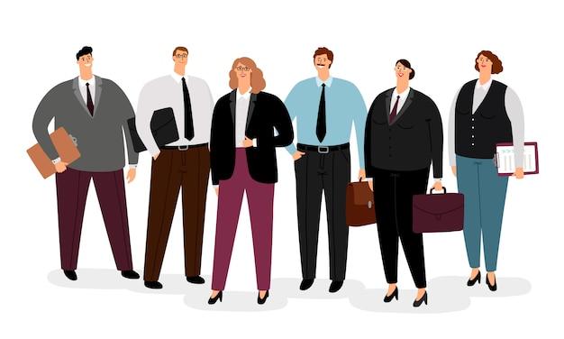 Деловые люди в формальной одежде