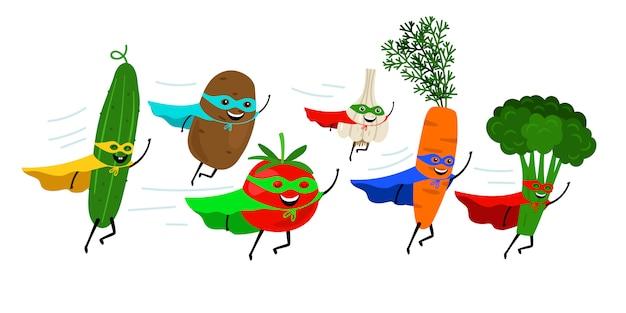 野菜のスーパーヒーロー