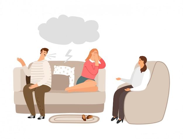 Помощь семейной терапии