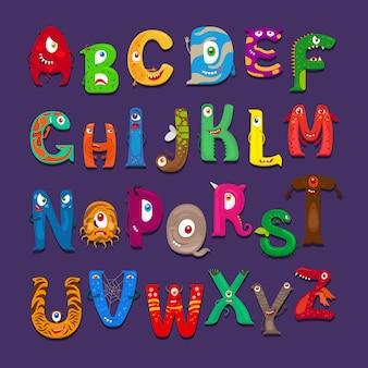 面白いアルファベット