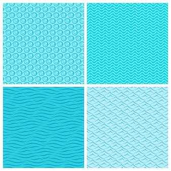 シームレスな波のパターン