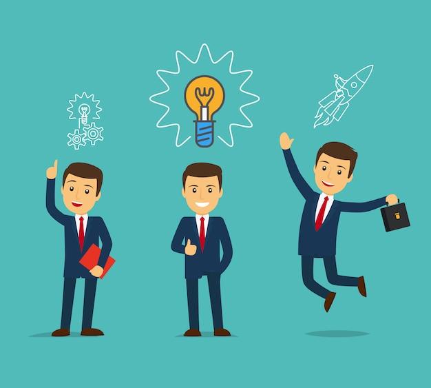 ビジネスアイデアのコンセプト