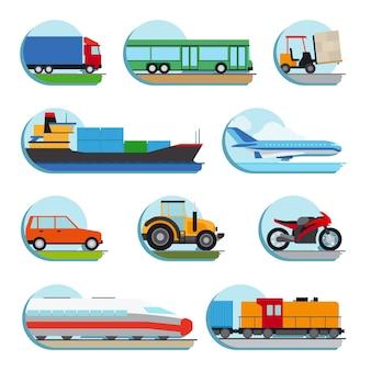Транспортные иконки