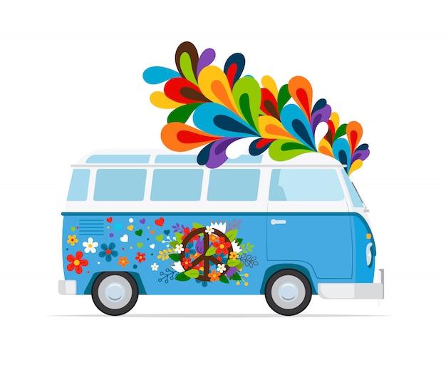 Хиппи автобус