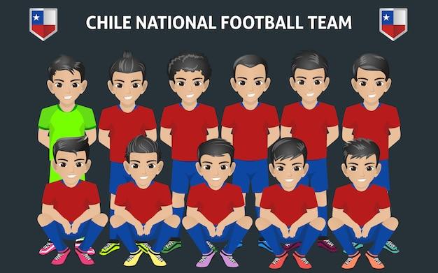 チリナショナルフットボールチーム