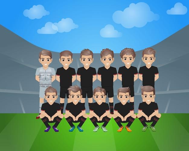 アトレティコマドリードサッカーチーム