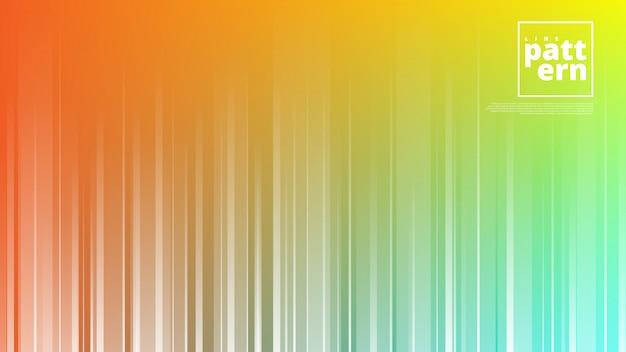 抽象的な背景と垂直線の形をした水平方向のバナー