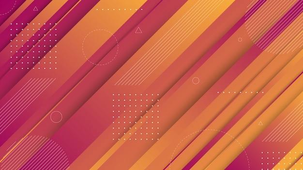 Современные абстрактные графические элементы. абстрактные баннеры градиента с плавными жидкими формами и диагональными линиями. шаблоны для дизайна целевой страницы или фона сайта.