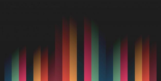 抽象的な幾何学的な背景の現代ベクトル