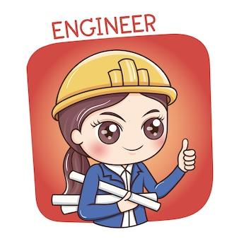 女性エンジニア