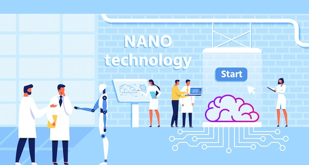 ナノテクノロジーラボと脳機能改善