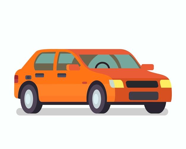 乗用車、ステーションワゴンカラーイラスト