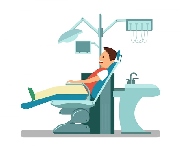 歯科医の訪問