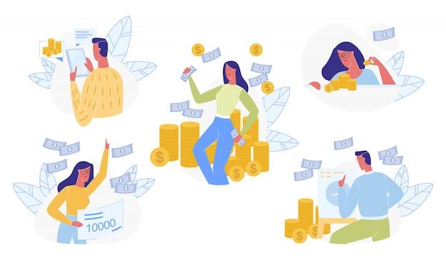 人とお金セットの分離